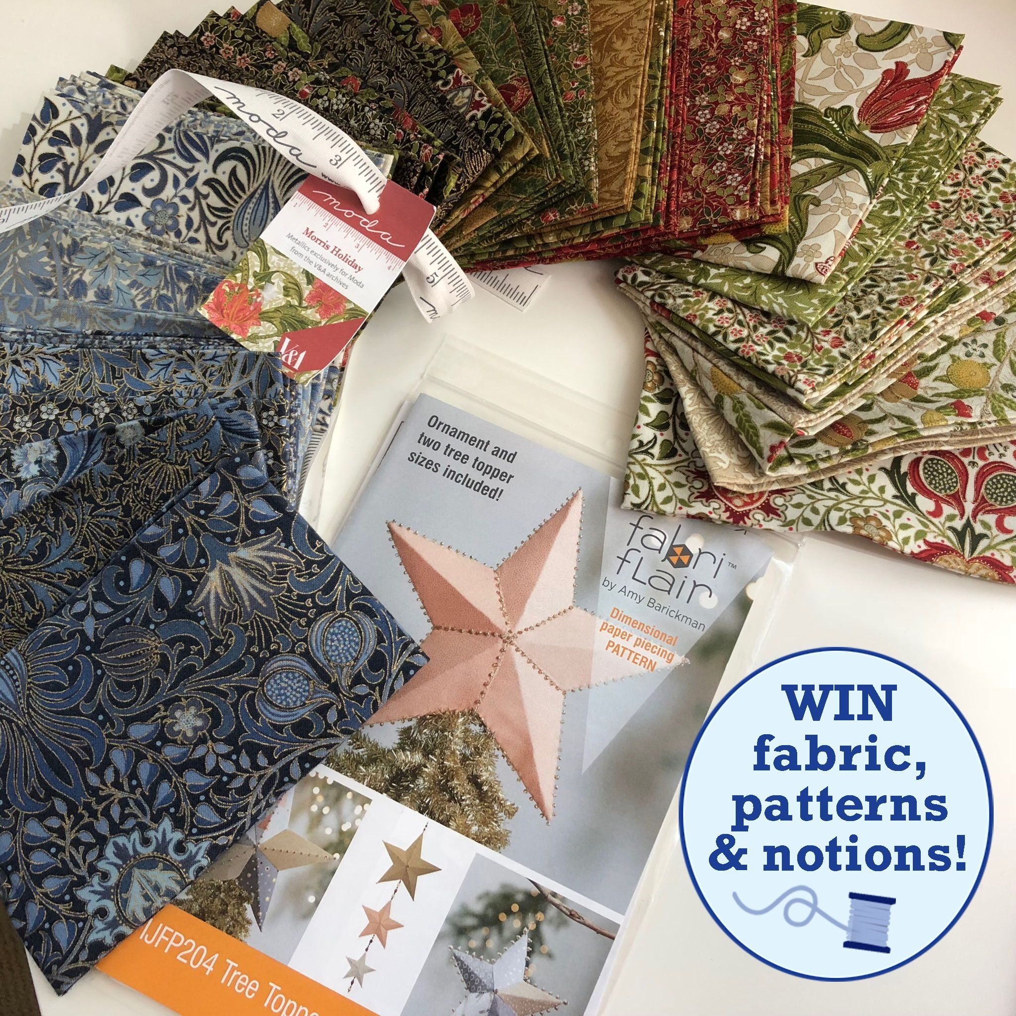 Weekly Giveaways To Celebrate National Sewing Month
