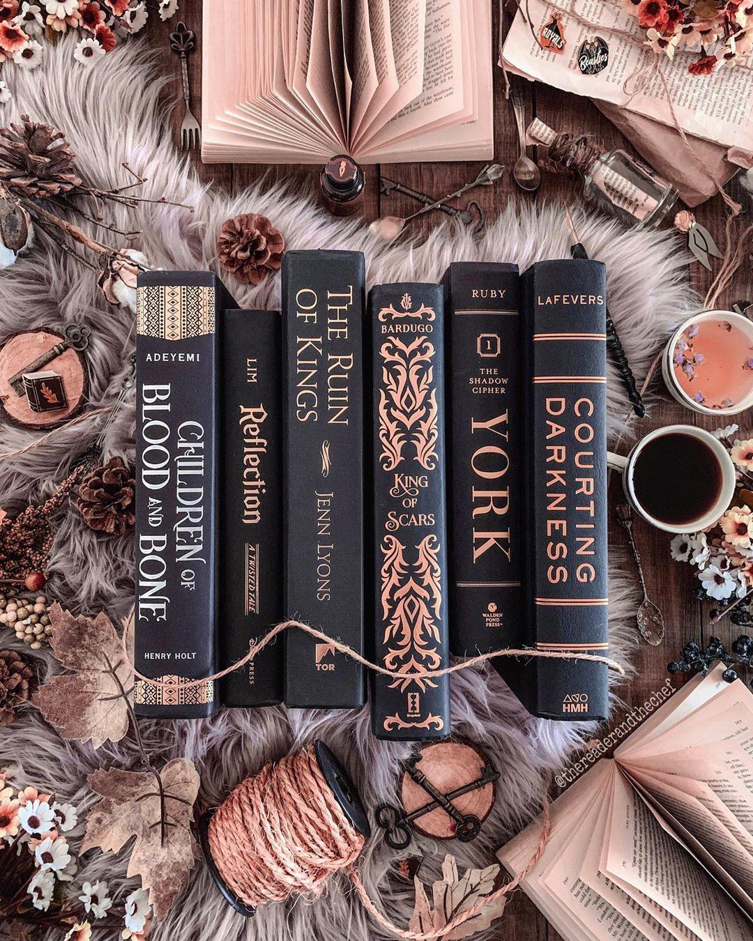 Black And Gold Spines Books Reading Booklovers Booklove Bookworm Booknerd Bookstagram Book Aesthetic Books Bookstagram Inspiration