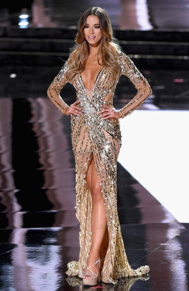 Miss Australia - Monika Radulovic | hairstyles | Pinterest ...