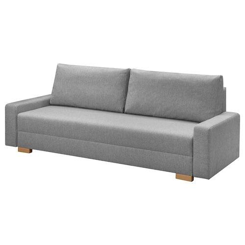 Friheten Canape 3 Places Convertible Hyllie Gris Fonce Ikea En 2020 Petit Canape Convertible Ikea Canape 3 Places