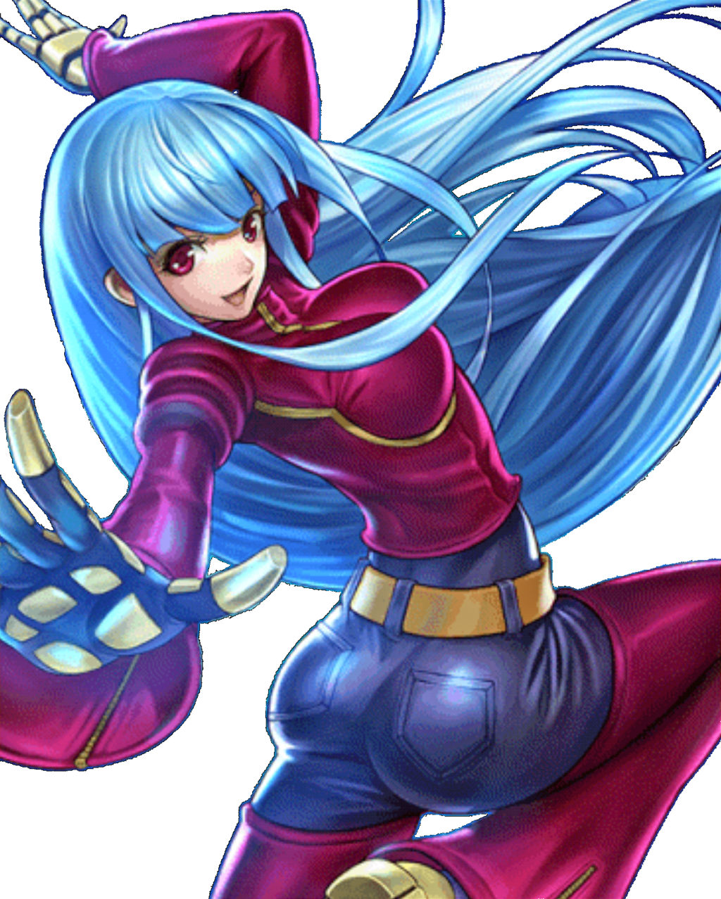 King of Fighters98 UM OL Kula Diamond by hes6789 Snk