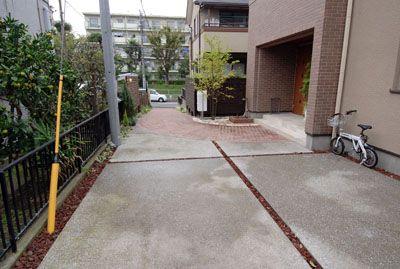 洗い出しの駐車場 猪俣邸 9 洗い出し 庭 エクステリア