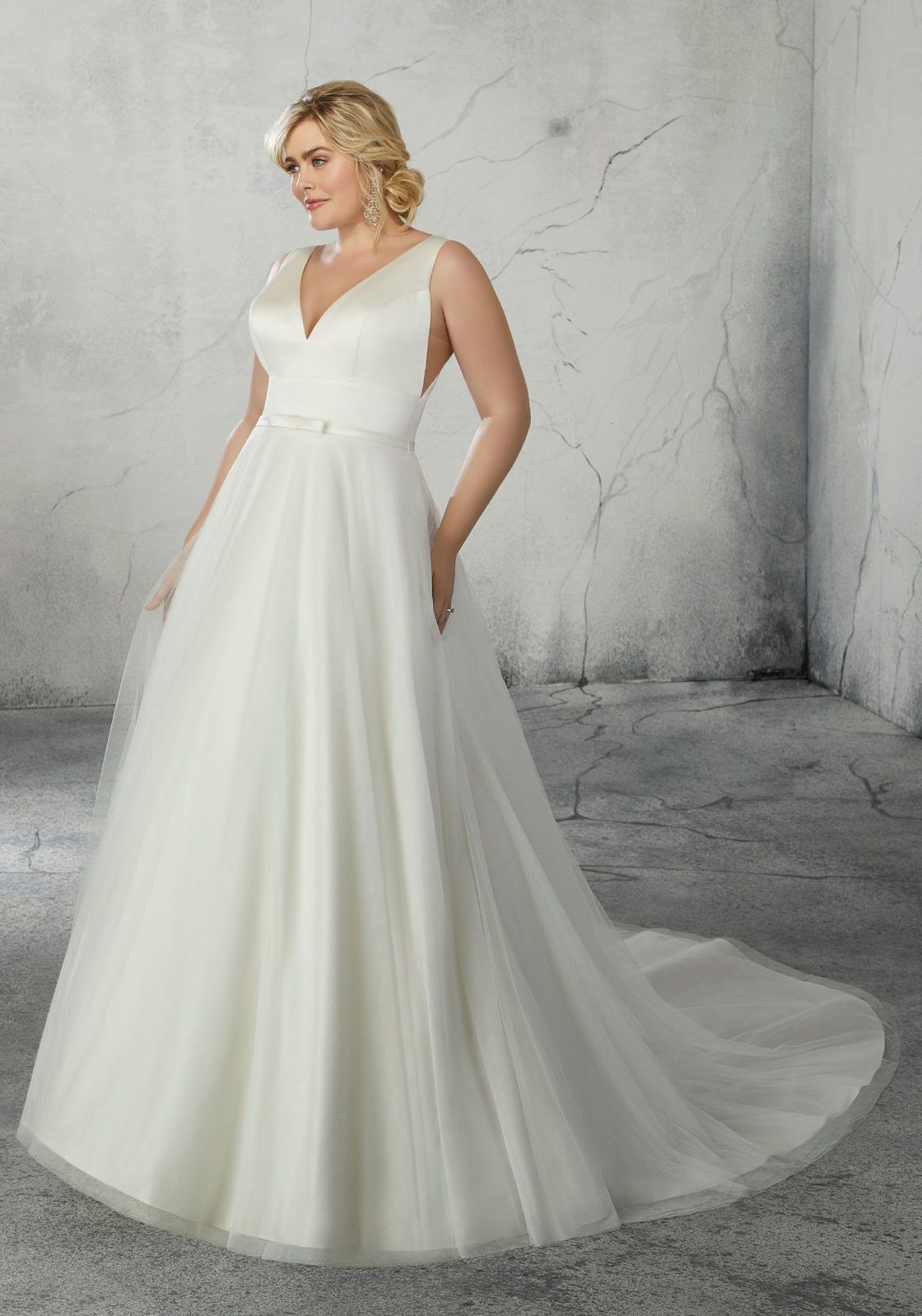 Rolanda Plus Size Wedding Dress Morilee (With images
