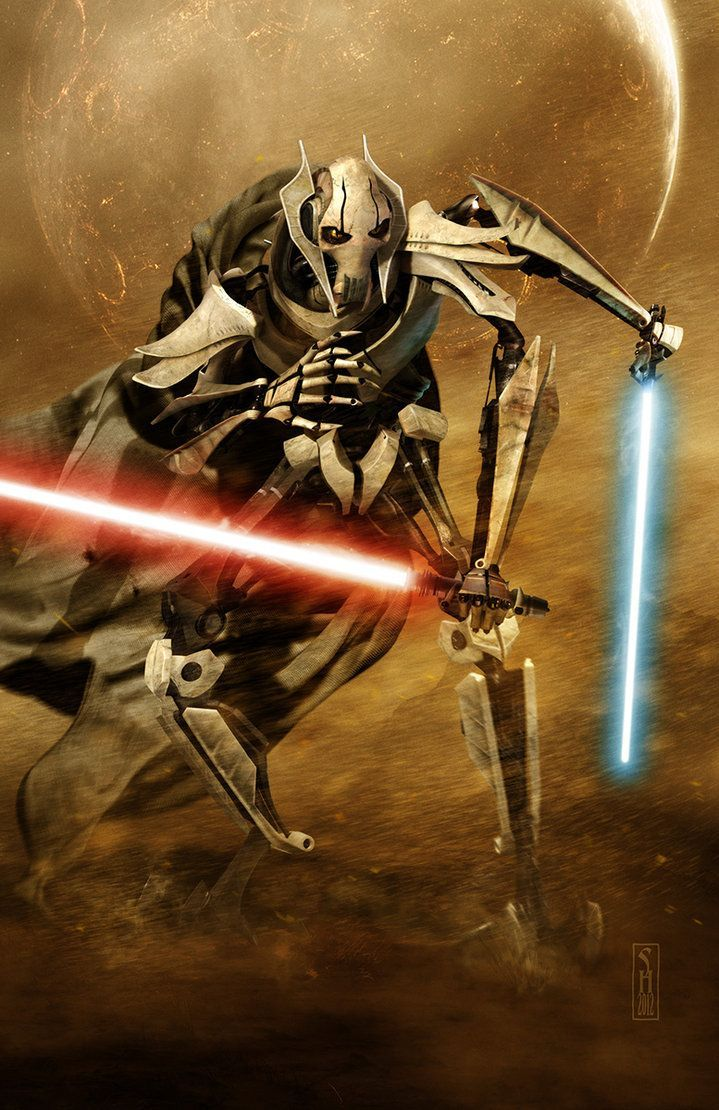 General Grievous Wallpaper Star Wars Video Games Background