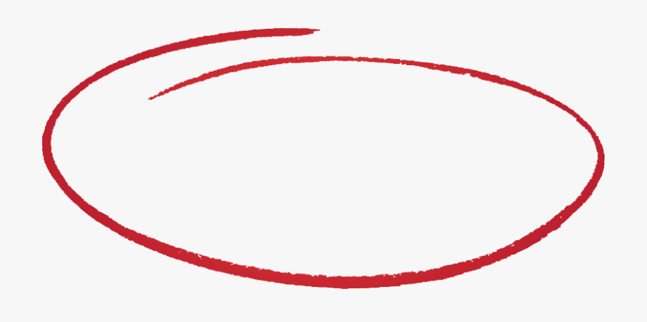 Transparent Hand Drawn Circle Png Red Circle Logo How To Draw Hands Simple Henna Tattoo