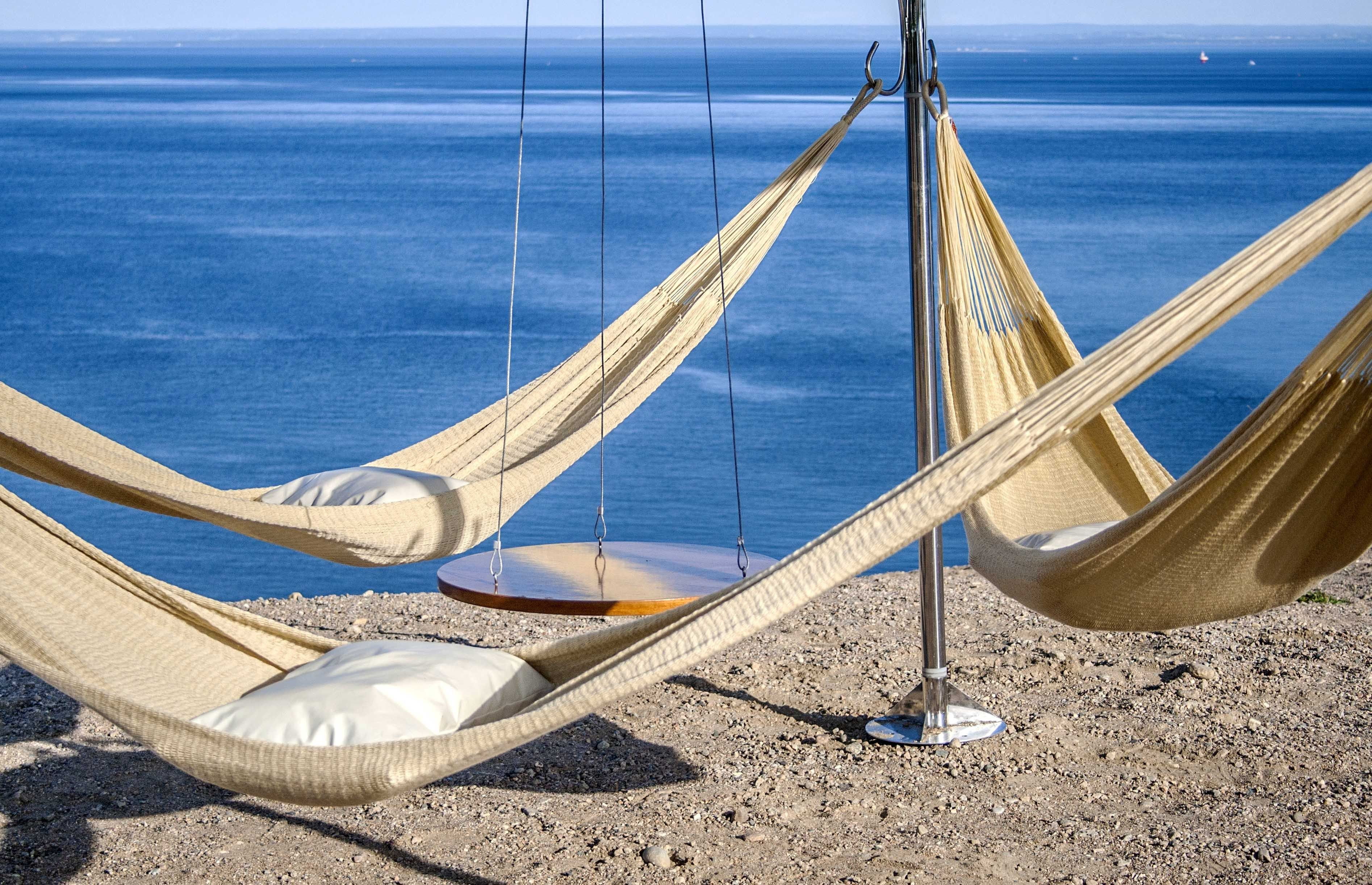 with island stand weave youtube wood watch arc hammock woven bay comfort
