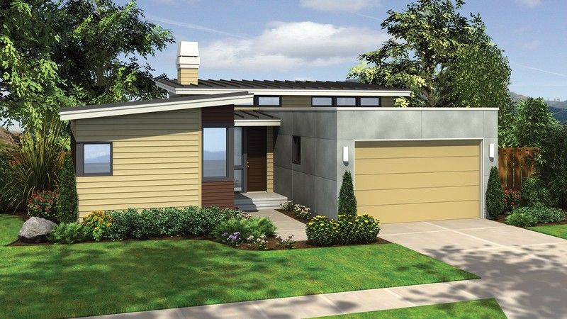 Plan B1159 The Berkley Is A 1768 Sqft Contemporary Style Home Plan Featuring And Modern Contemporary House Plans Contemporary House Plans Modern House Plans