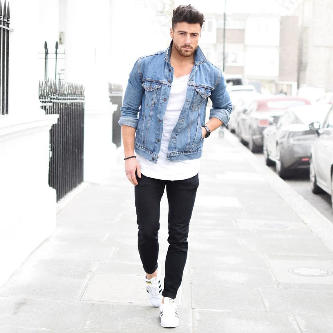 """rowanrow on Instagram: """"Denim on 1st day of March Welcome Spring  #menwithstyle #menwithstreetstyle #menwith #denim #levis #fashion #fashionista #fashionblogger #blogger #bloggers #bloggerlife #lifestyle #streetphotography"""""""