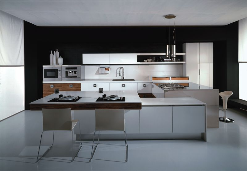 modern kitchen with 2 islands - Google Search home inspiration