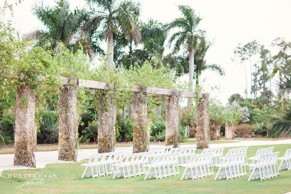 Naples Botanical Garden Wedding Wedding at The Inn on