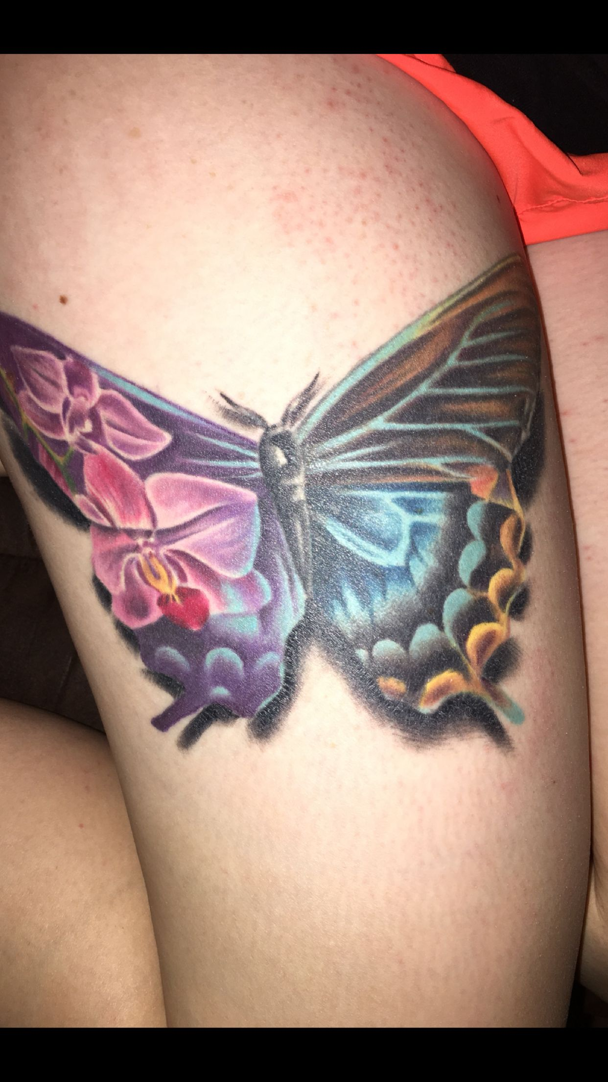 My finished tattoo done by christoph nels in fort myers