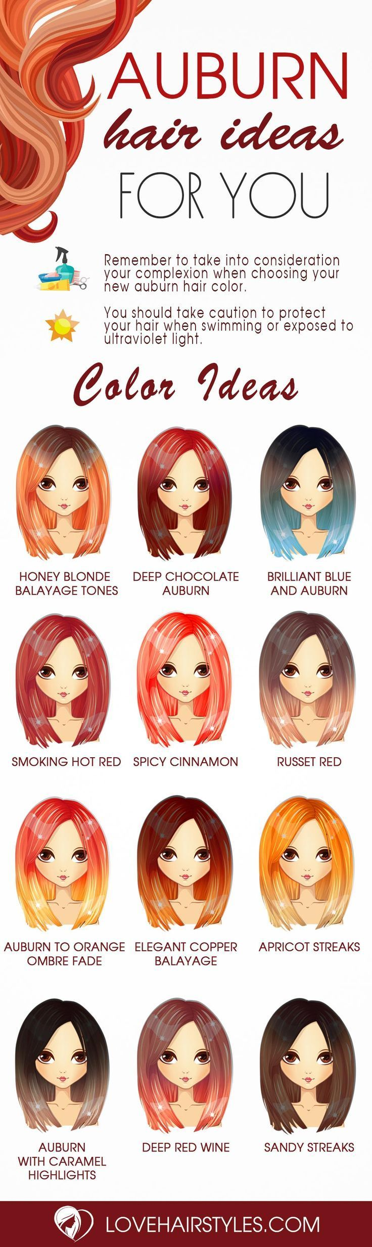 Absolutely adorable auburn hair shades see more