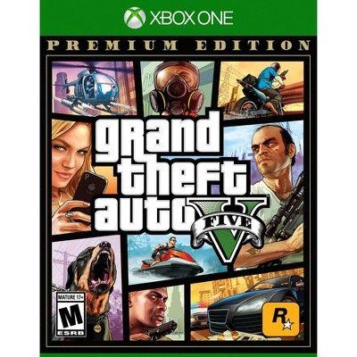 Grand Theft Auto V Premium Edition Xbox One Grand Theft Auto