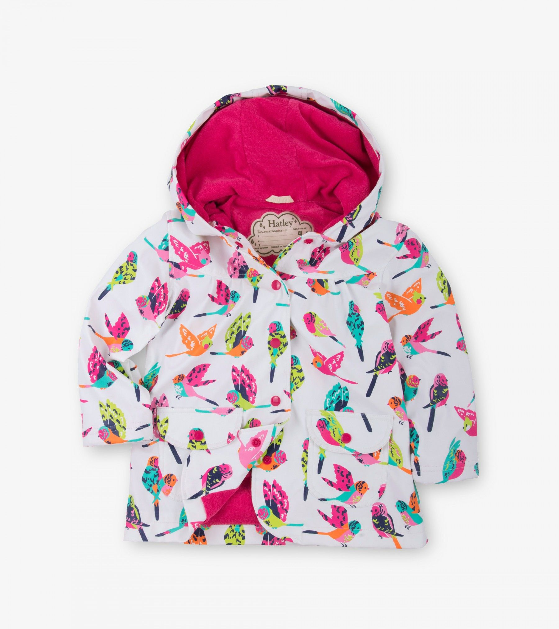 HATLEY GIRLS STARFLOWER RAINCOAT