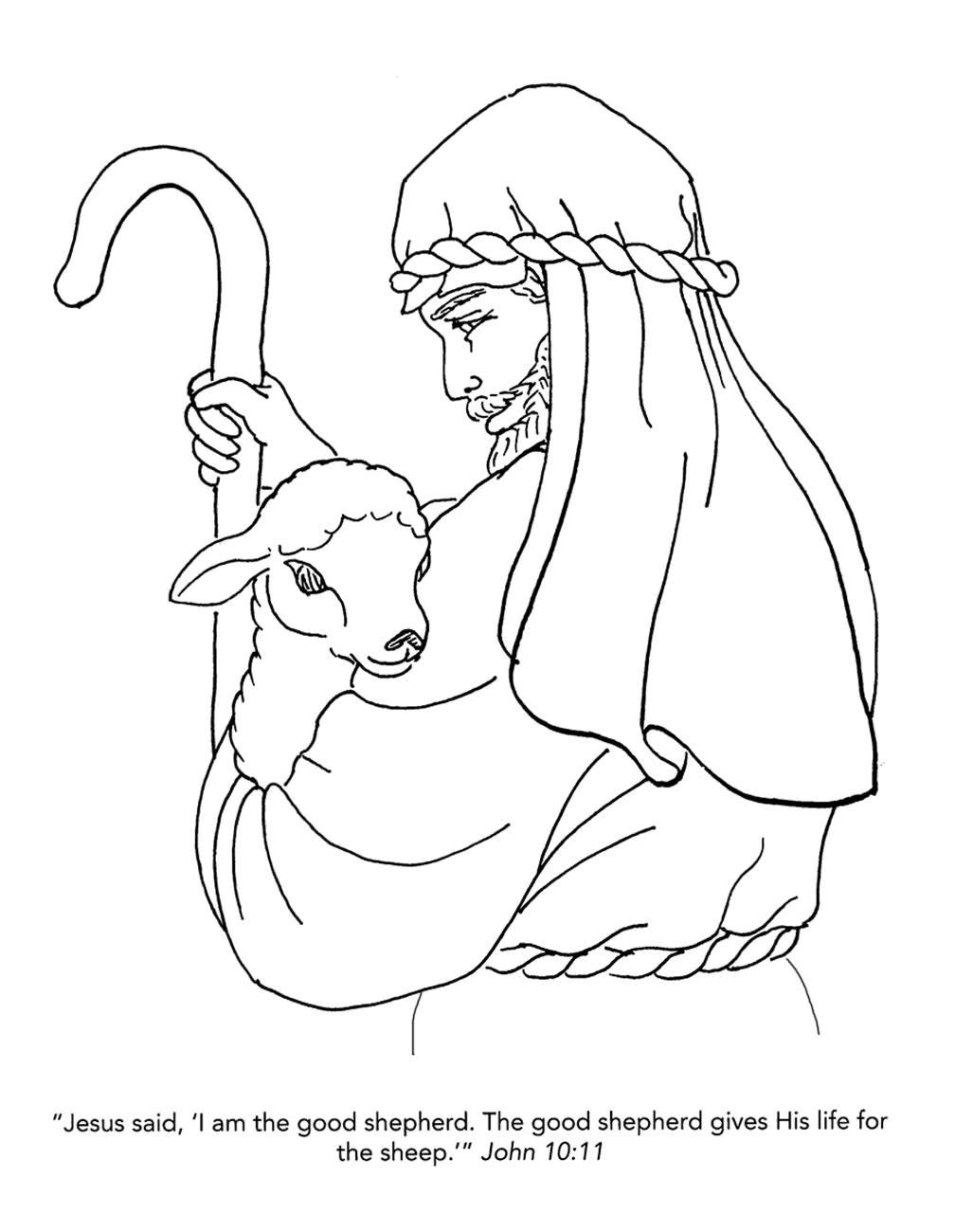 Free Christian Coloring Pages for Kids, Children, and ...