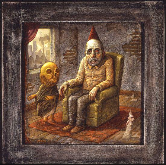 Thomas Ligotti Online Thomas Ligotti Pop Art Monster Art