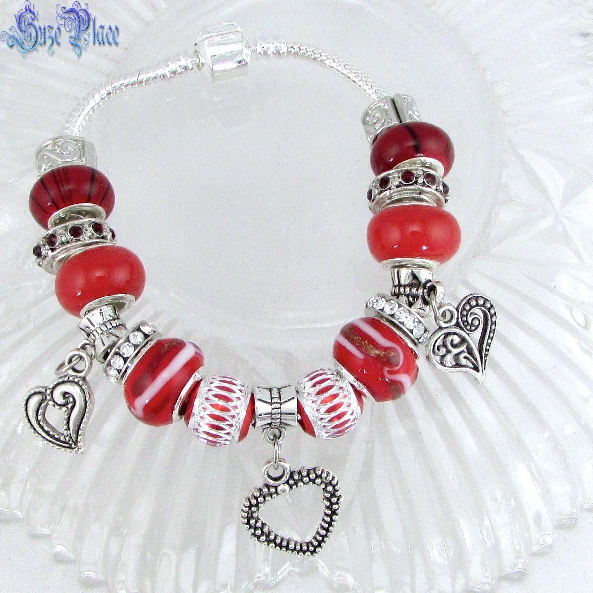 Pin by Angela Heath on Bracelets, Silver charms