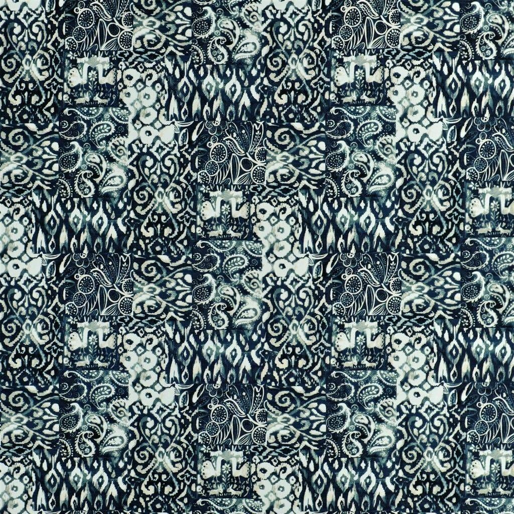 William Yeoward Pearlo Indigo Fabric Fwy8048 01 Made To