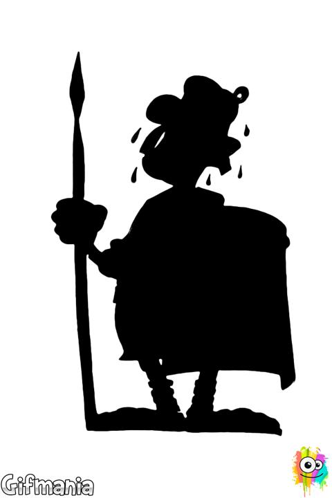 Dibujo De Legionario Romano Para Colorear Dibujos Paginas Para Colorear Asterix Y Obelix
