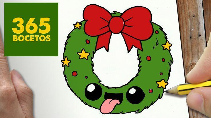 Dibujos De Navidad Faciles 365bocetos