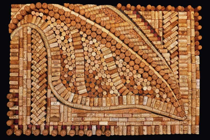 Wine Cork Art Projects Google Search