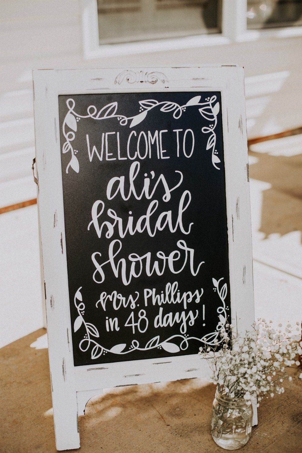 An Antiques and Ivory Rustic Bridal Shower