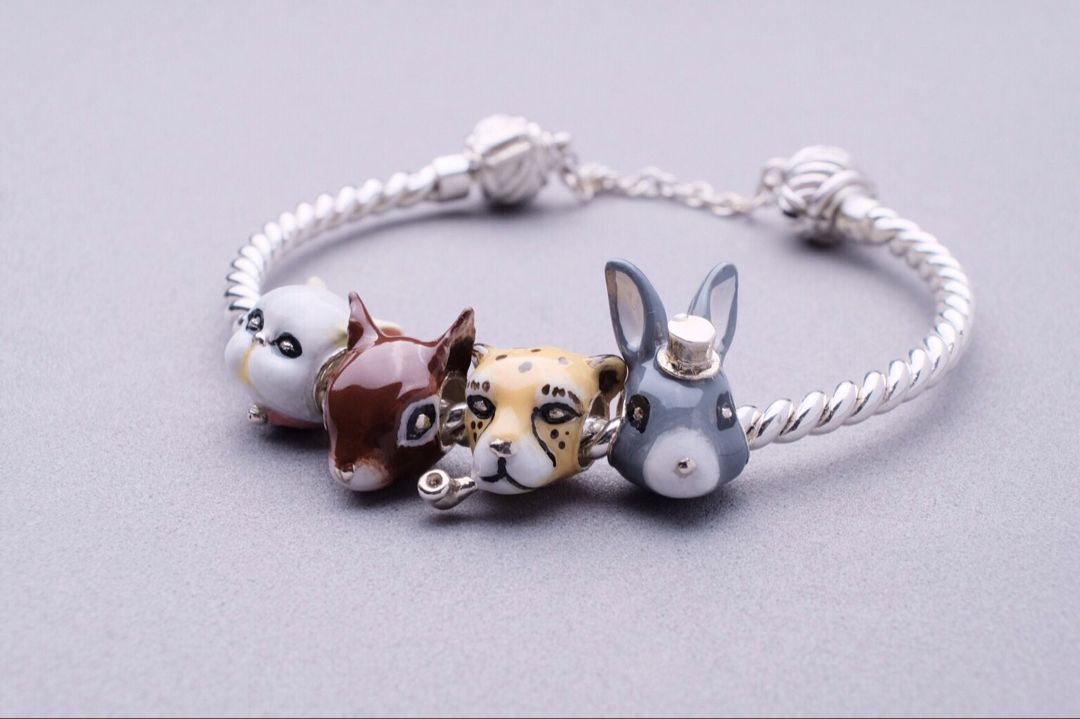 """Let me introduce our first silver collection """"LOVE AT"""