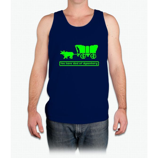 You Have Died Of Dysentery - Mens Tank Top