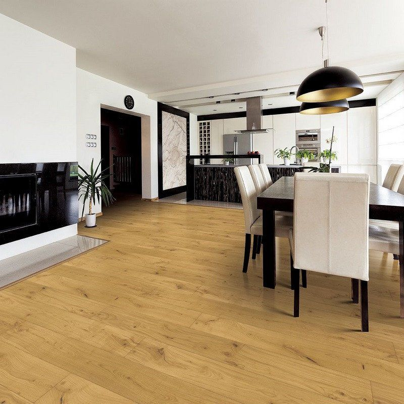 Tuscan Natural Oak Engineered Wood Flooring Engineered