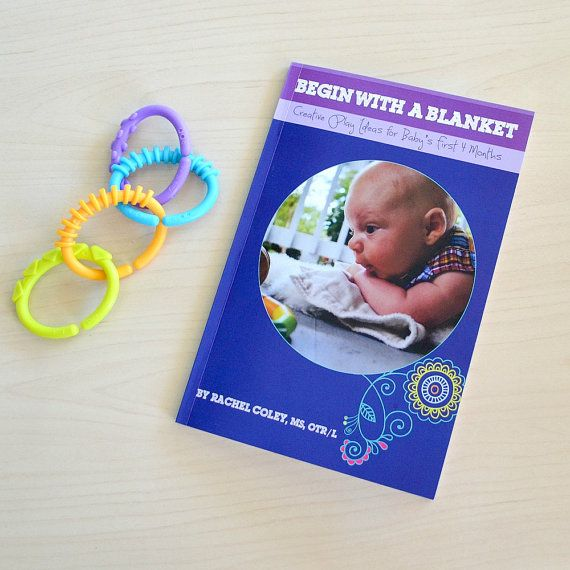 BOOK of Creative Baby Play Activities, baby shower gift, learning educational play, new mom gift, baby book, sensory play, parent gift