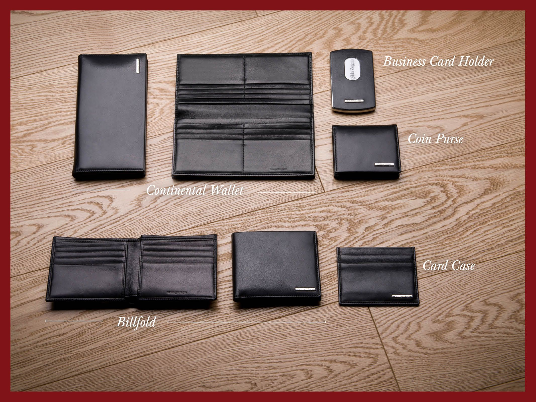 Ermenegildo Zegna - Holiday Season Selection - Small leather goods ...