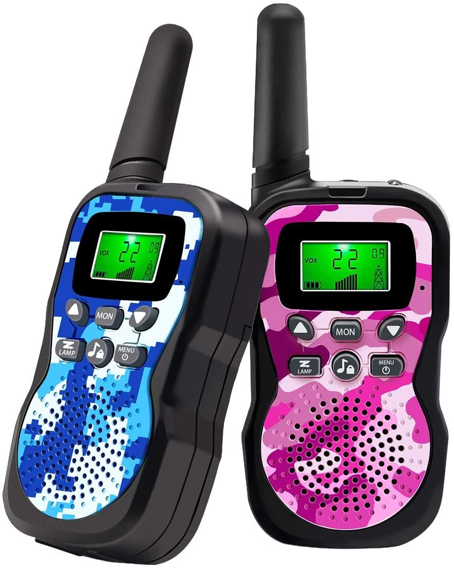 Best walkie talkies for kids range up to 3 miles with