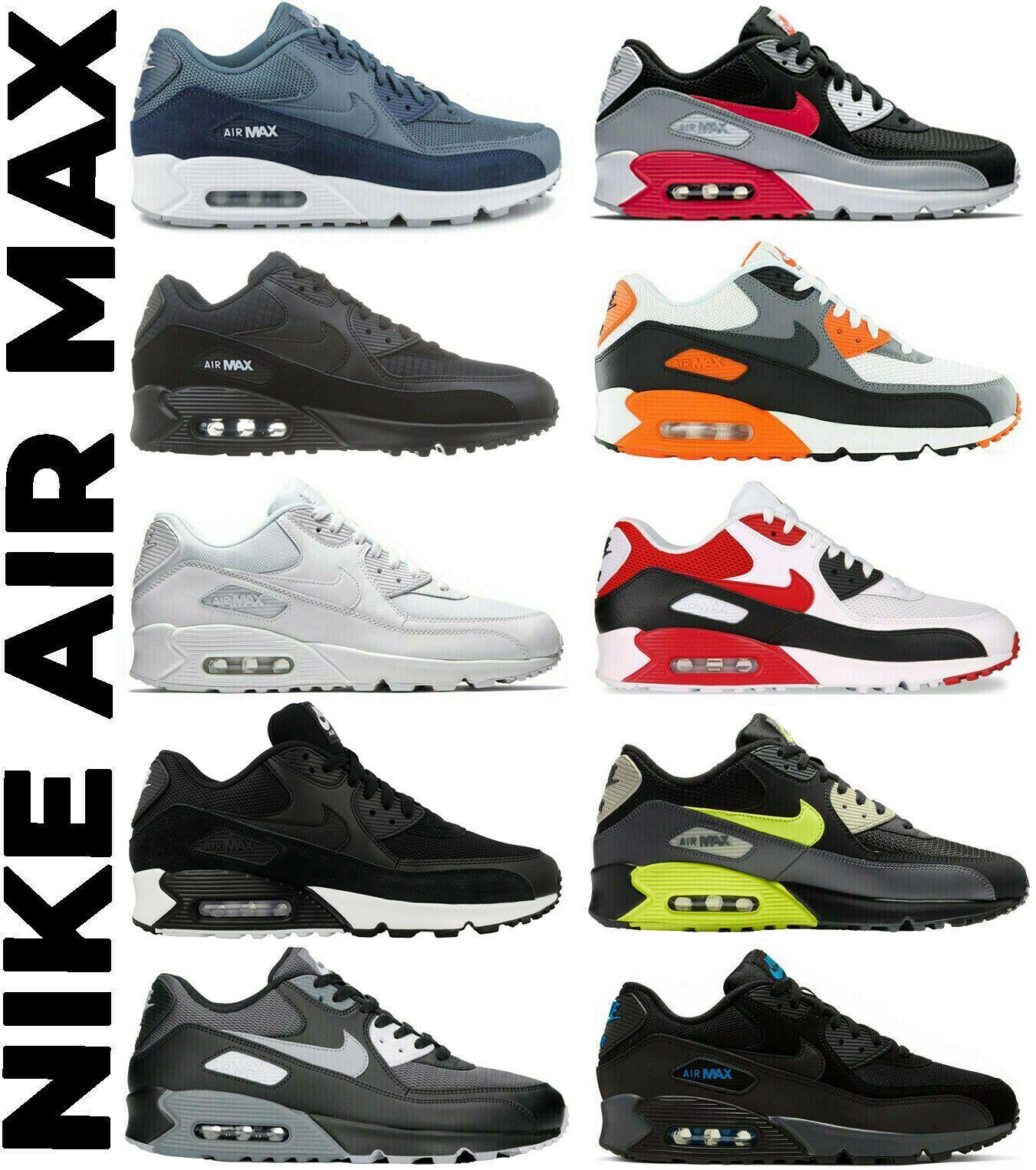 Nike Air Max 90 Essential Trainers Mens Womens Mens Shoes Sneakers Aj 1285 Ebay In 2020 Nike Air Max 90 Nike Air Max Nike Art