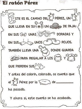 cuento ratoncito Perez para imprimir … | cuentos | Teach…
