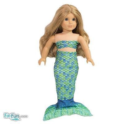Mermaid outfit for 18 inch doll