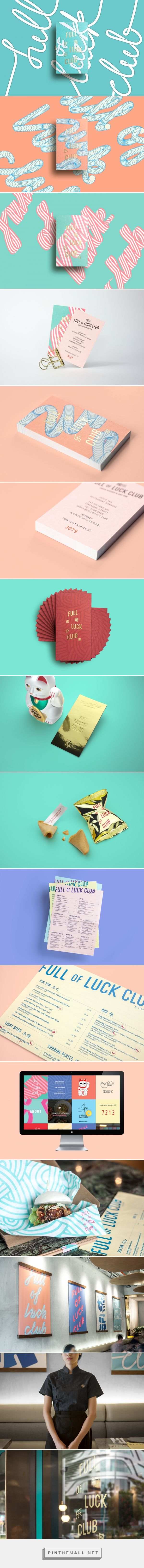 Full of Luck Club on Behance... - a grouped images picture - Pin Them All