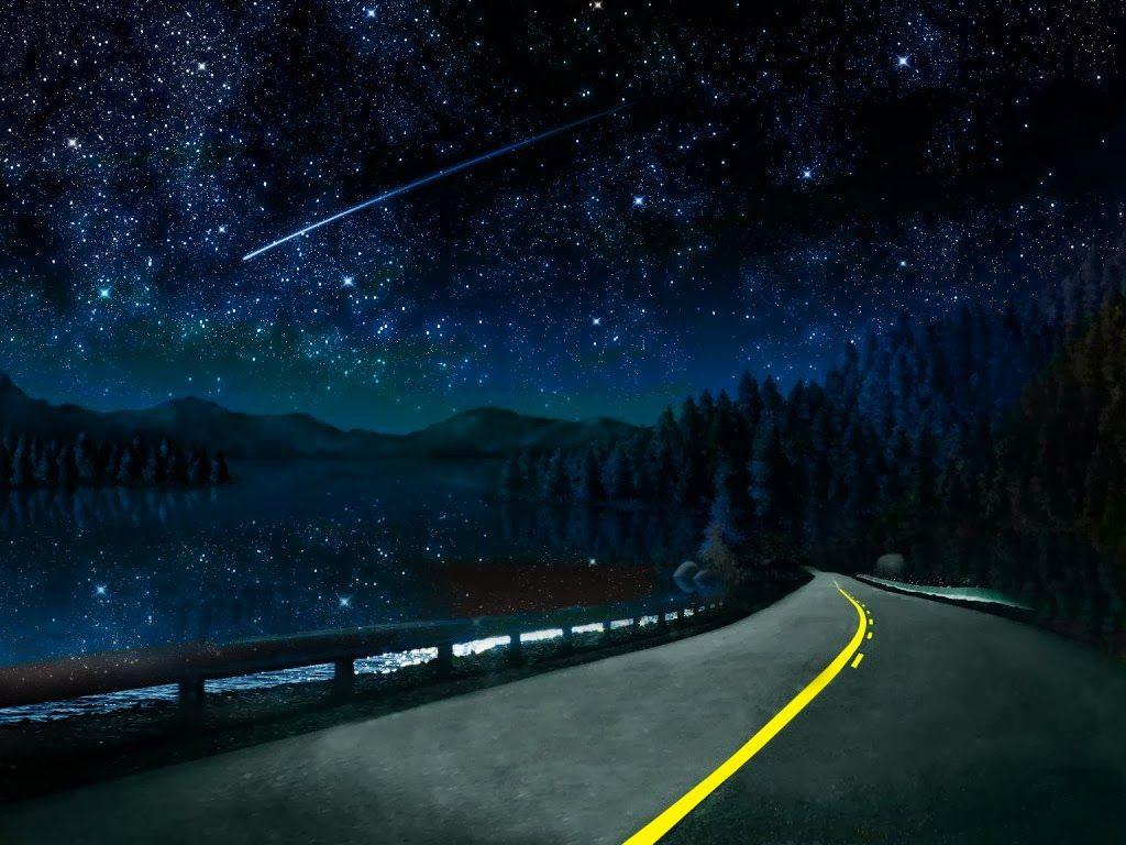 Beautiful night sky... - Intl. Starseed Network