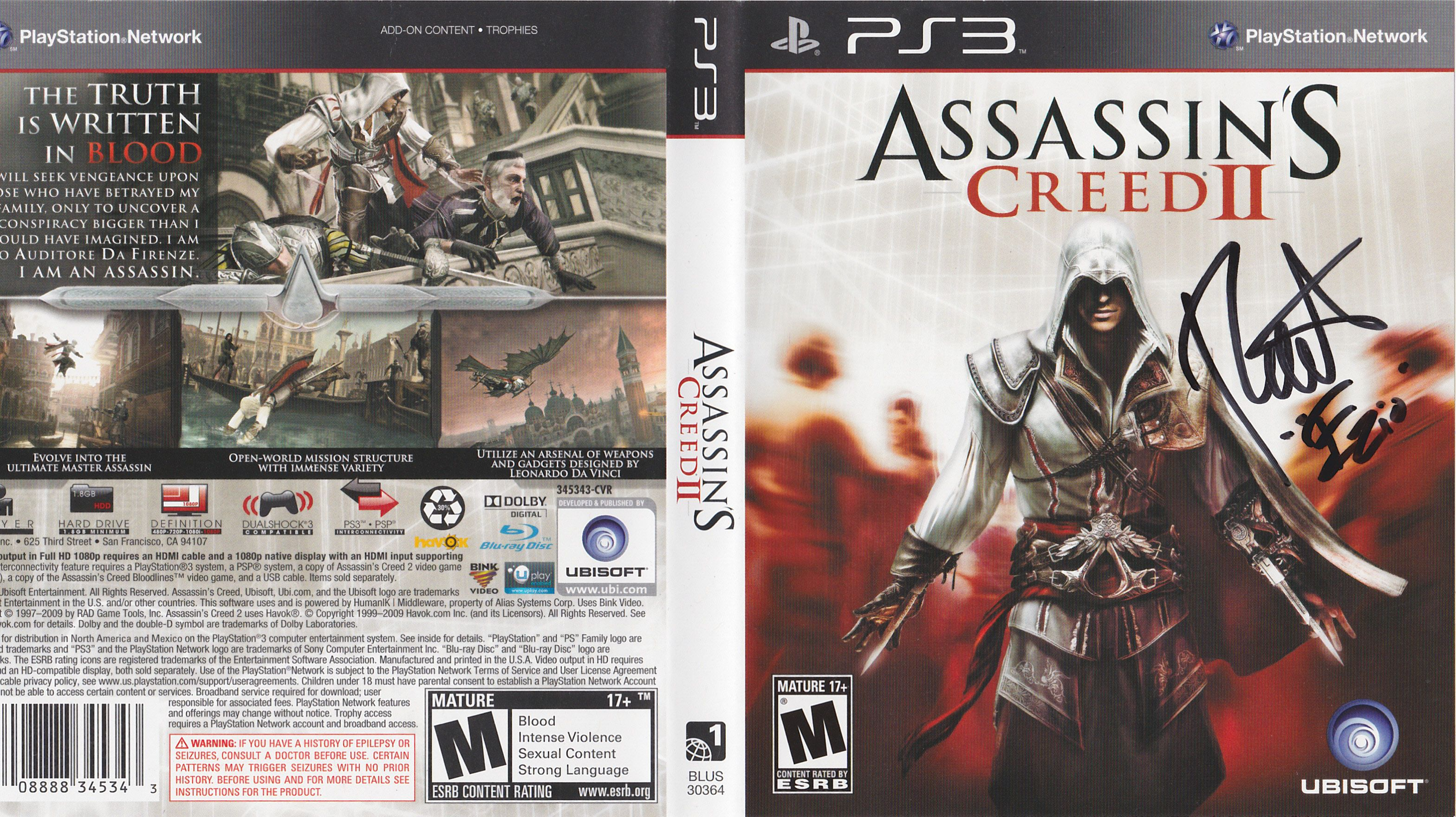 designe assassins creed2 ost - HD 3136×1760