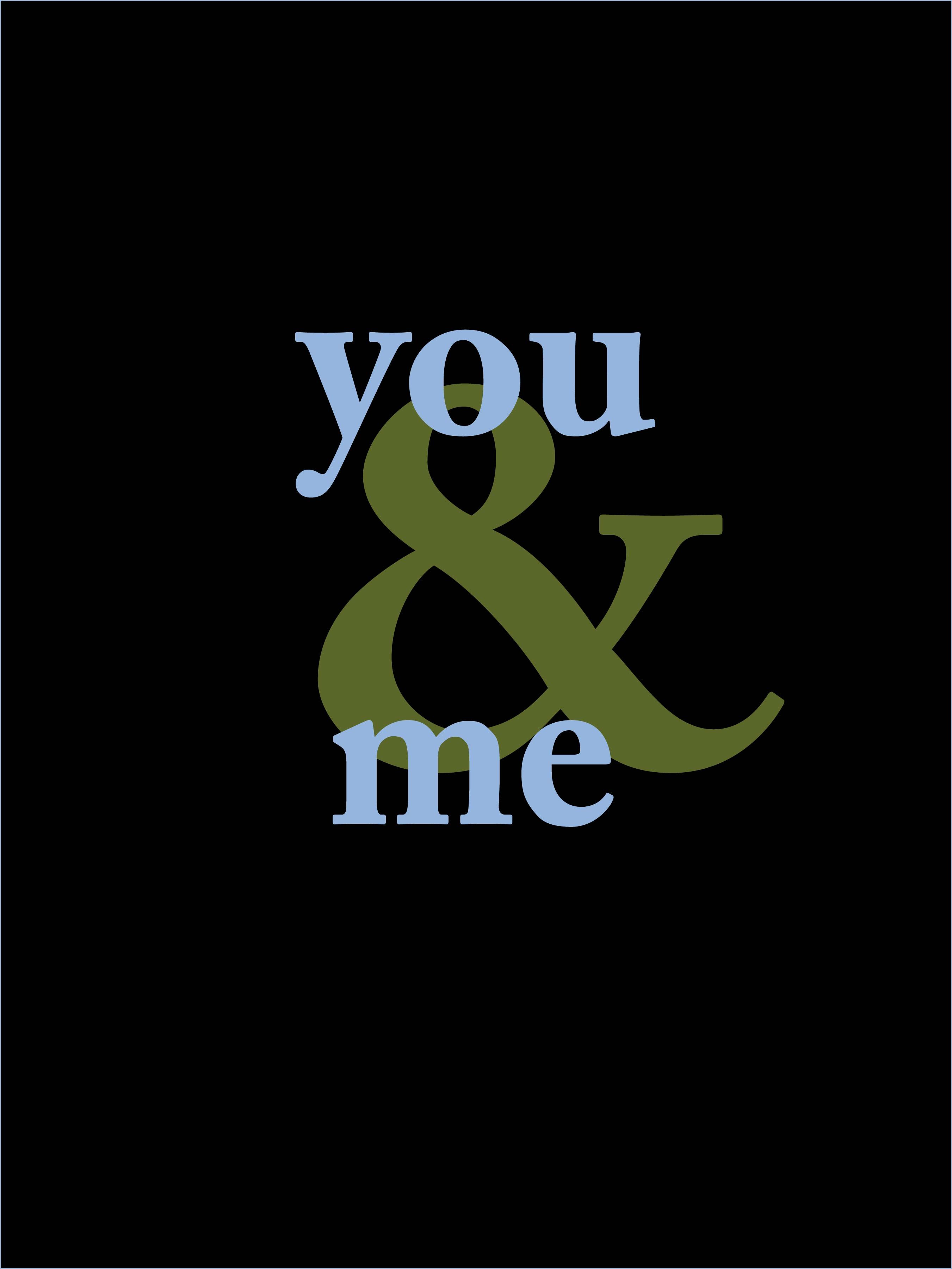 You and Me                                             by Velásquez©2012