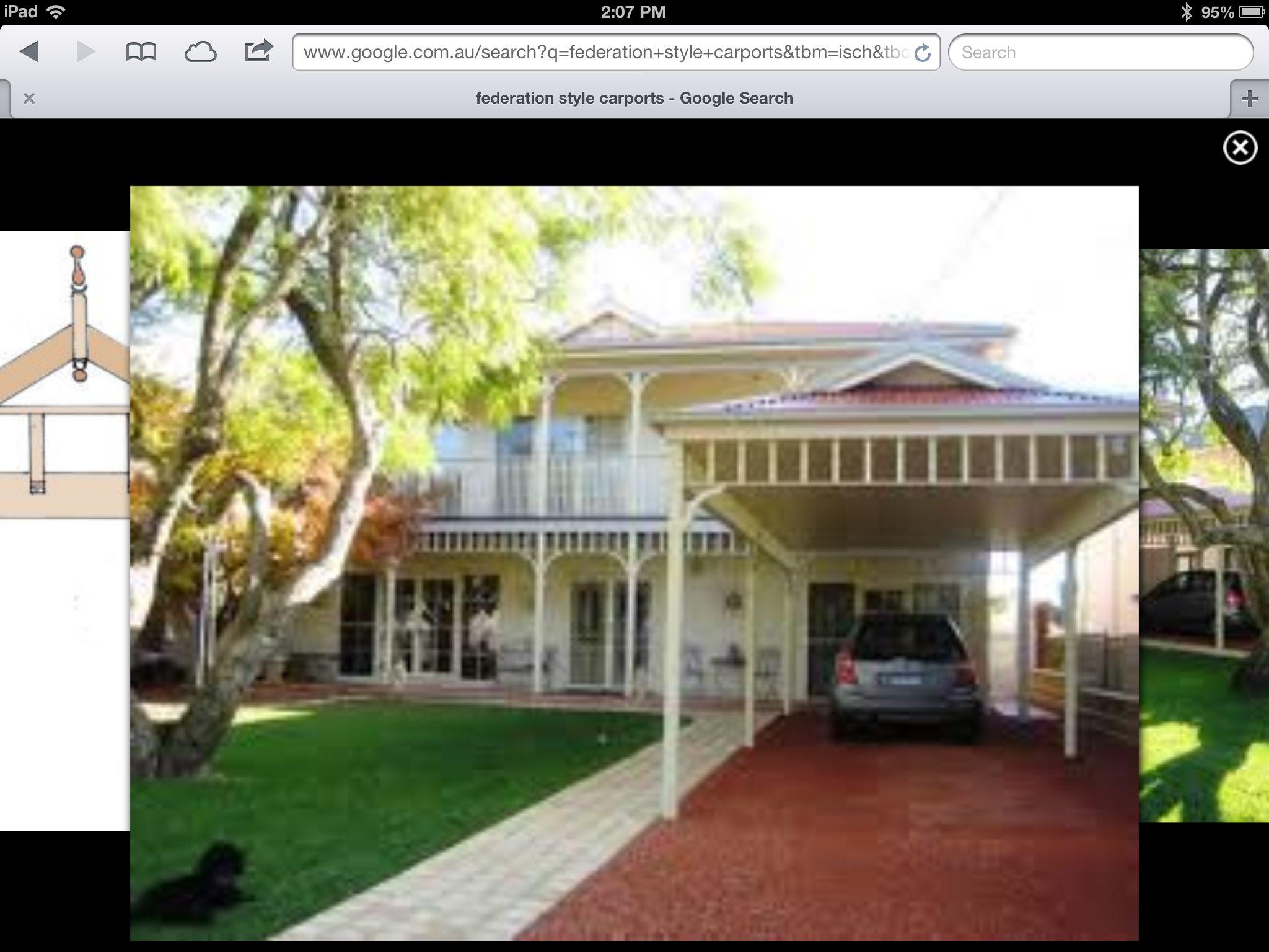 Carport House Styles