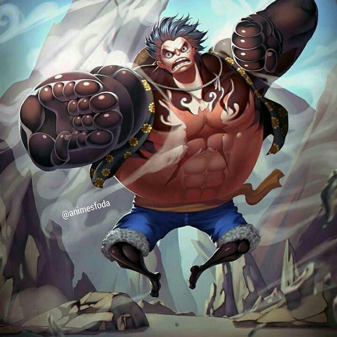 One Piece . . . . Luffy >{Gear Fourth}