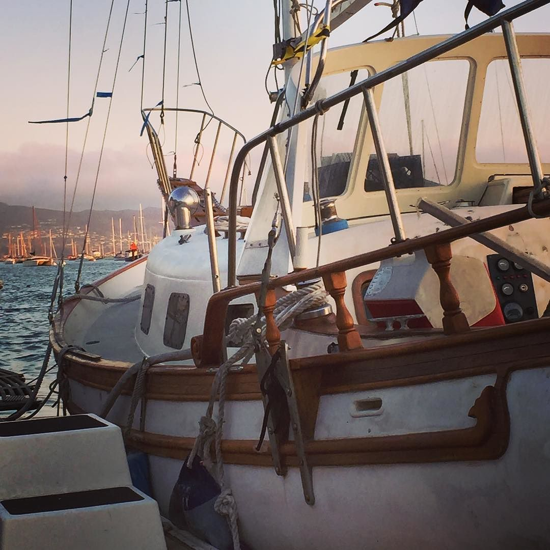 #sailboat in #morrobay #california #sailing by cdmiller3