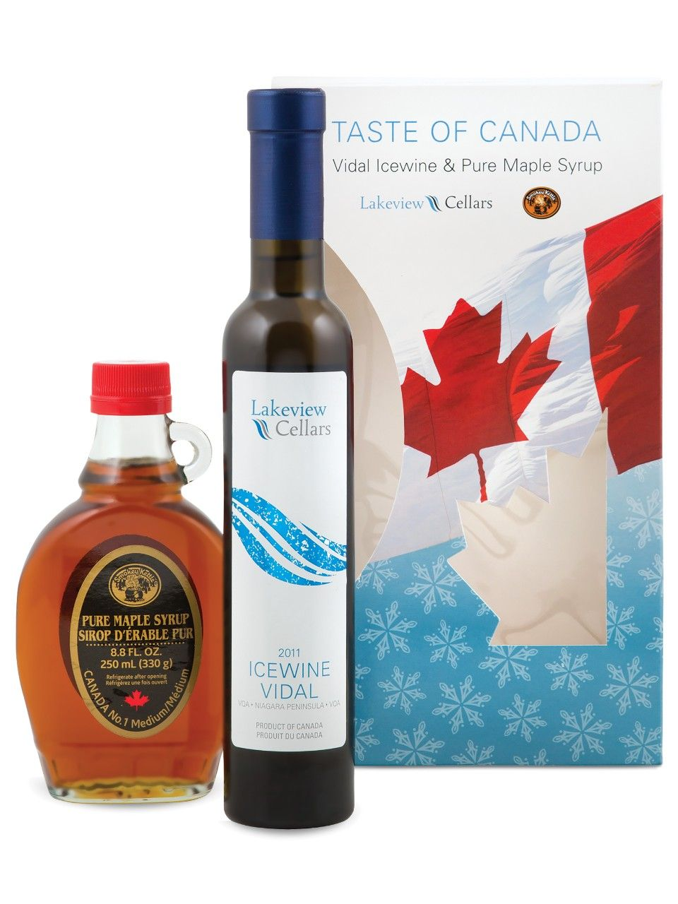 Lakeview Vidal Icewine & Maple Syrup Gift Pack