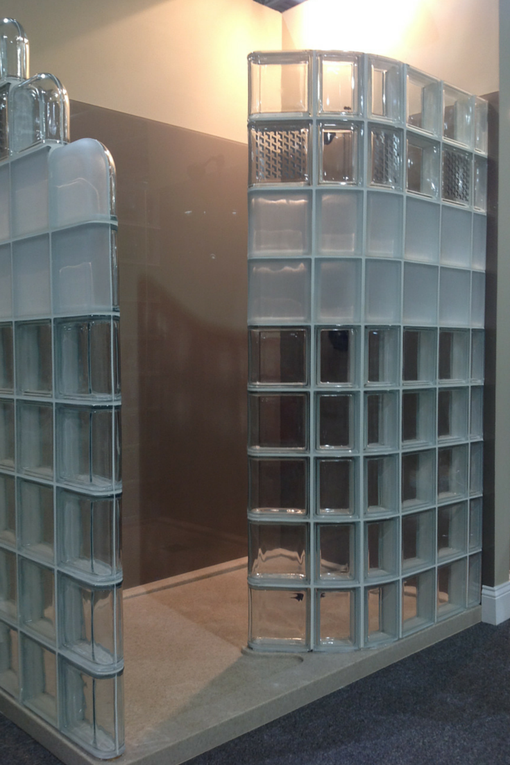 Modern glass block shower system introduced at Columbus Home ...