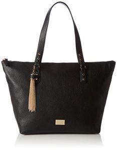 Liu Jo Damen Minorca Shopper Tote, Schwarz (Black), 18 x 29 x 30 cm -