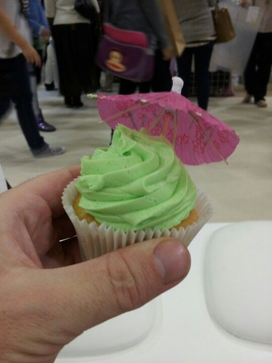 Mohito cup cake