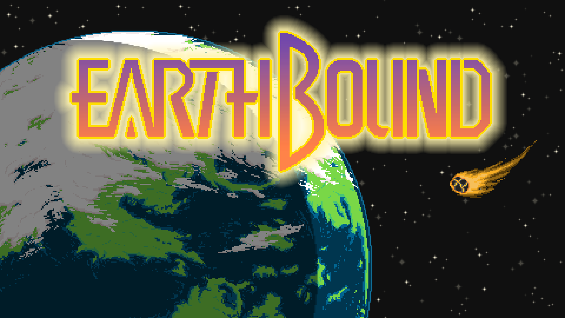 Here S A Earthbound Wallpaper Tribute I Did Enjoy Wallpaper Cool Gifs Neon Signs