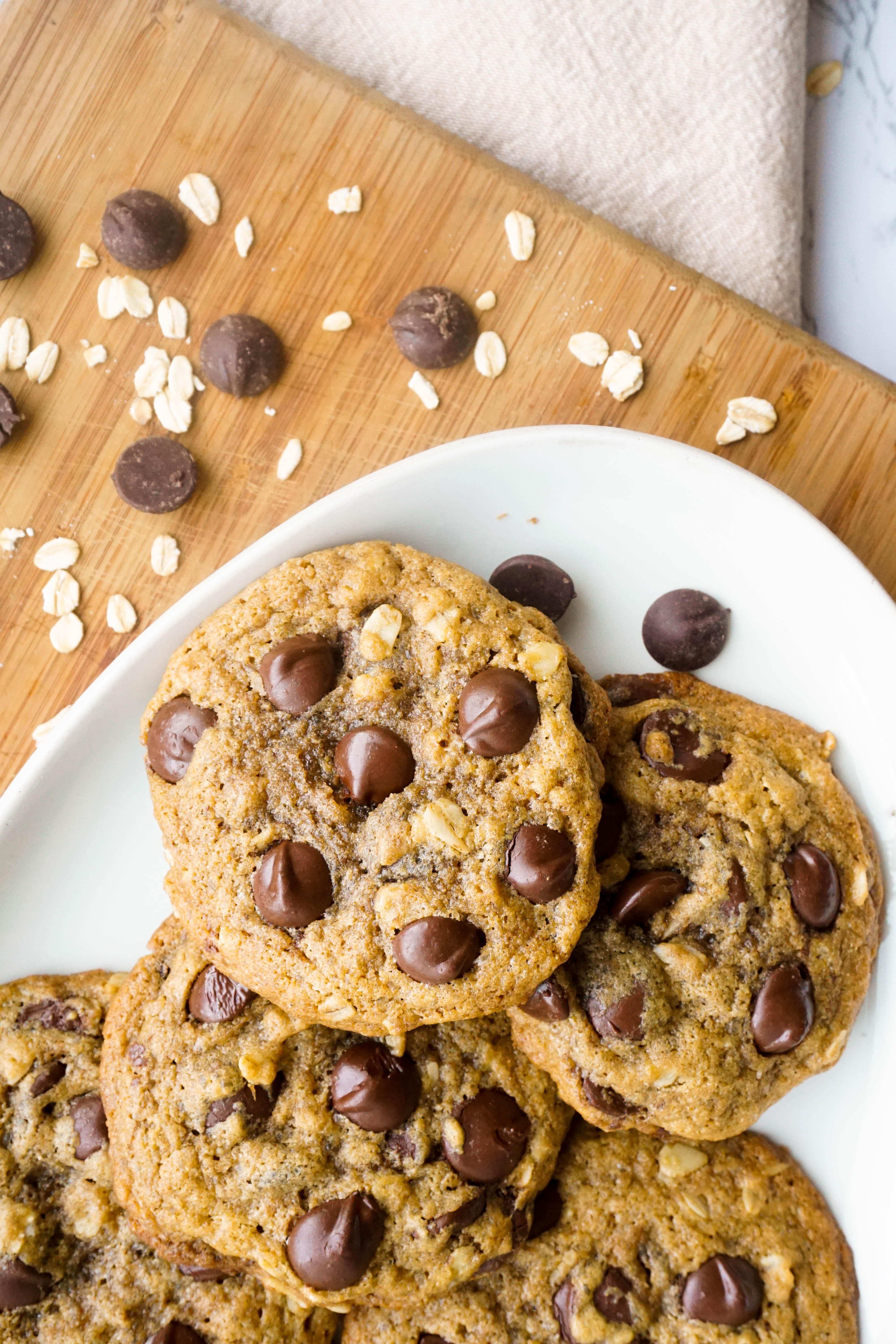 The Best Brown Butter Chocolate Chip Cookies Whole Wheat Butter