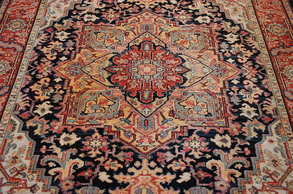 Mint Rare Size American Karastan Heriz Pattern 700 701 Rug 5 9x9 True Beauty Traditionalpersianoriental