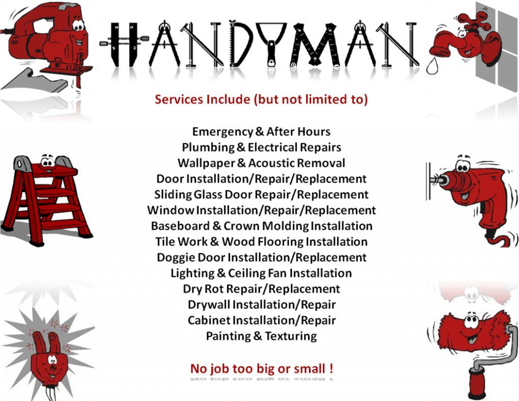 Sometimes you just need a hand with something. Even larger jobs can be taken care of by the best suited handyman!MightyDoes Handyman Services Houston TX can accomplish all of your major and minor home repairs. Contact us today for handyman services at mightydoes.com/ #Handymanhomeservices